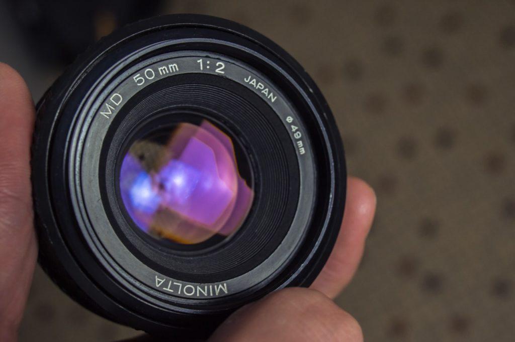 minolta monture md 50mm f/2