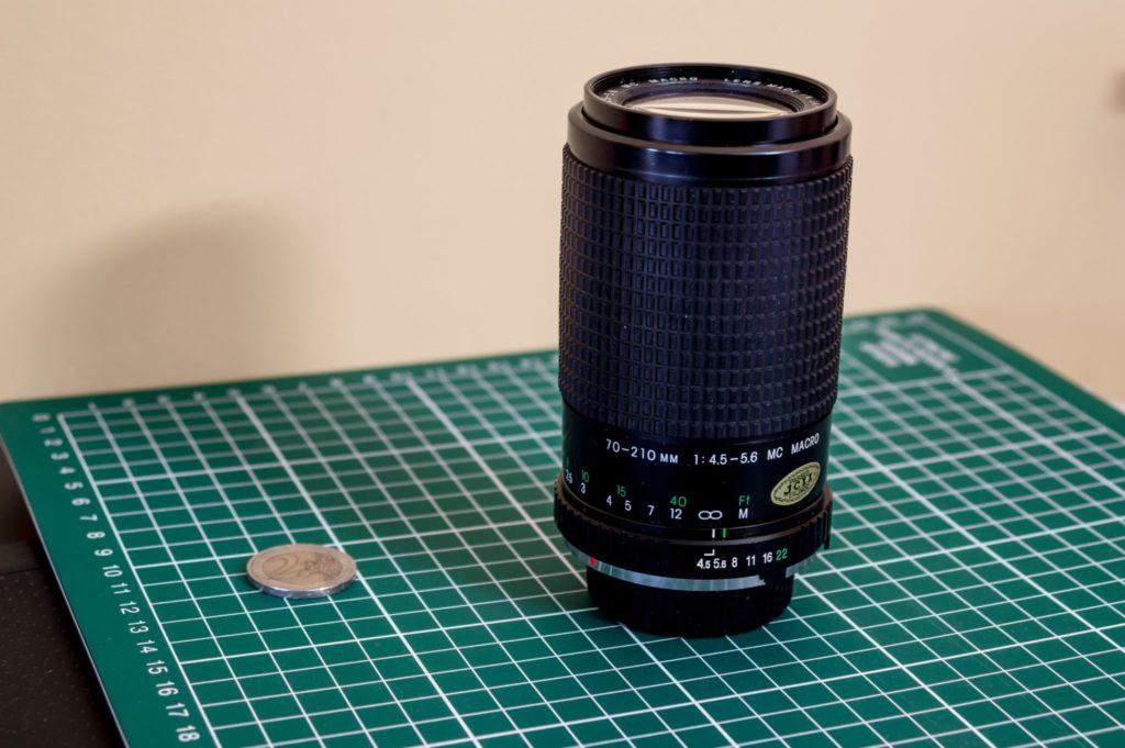 cosina md 70-210mm objectif zoom à pompe