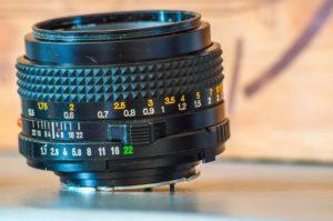 minolta focale 50mm ouverture f1.7 monture MD