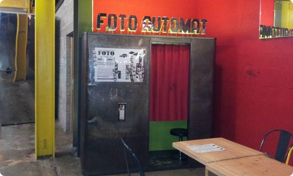 photomaton retro à Nantes