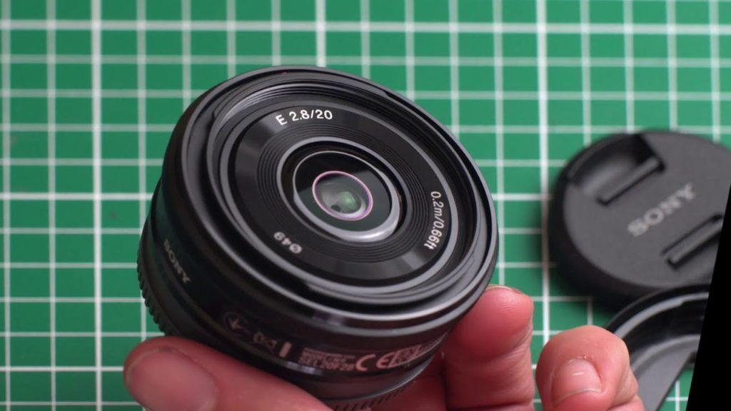 test de l'objectif Sony E 20mm f/2.8